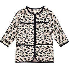 Mini girls pink jersey jacket 26,00 €