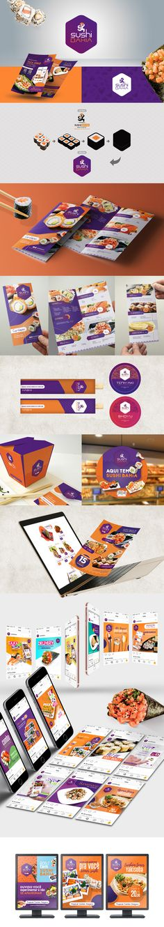 Sushi Bahia - Comida Japonesa on Behance