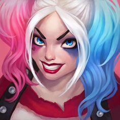 Harley Quinn , Angelica Alieva on ArtStation at https://www.artstation.com/artwork/La5L5