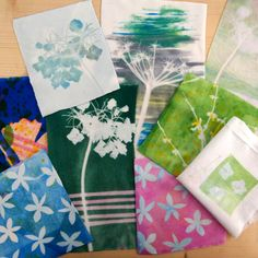 Transfer Printing Transfer Paper, Heat Transfer, Transfer Printing, Green Paper, Pink Paper, Collections Of Objects, Paper Mask, Textiles, Hydrangea Flower