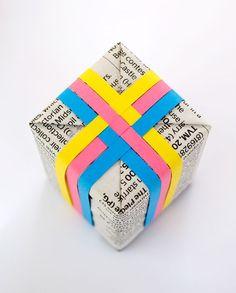 Zo simpel kan het zijn! #cadeau #inpakken #inspiratie #giftwrapping