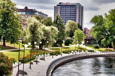 Koskipuisto Tampere. Cities In Finland, Travel Themes, Study Abroad, Europe, Tours, Photo And Video, Country, World, City