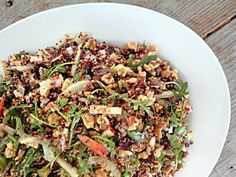 This & That: Quiona Salad with Apples, Walnuts, and Dried Cranberries