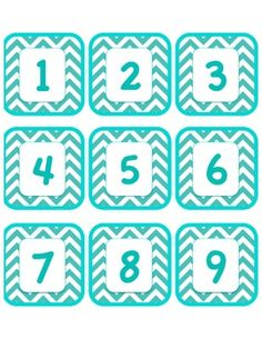 e71d13e92 Chevron Numbers and Labels
