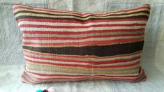 Excited to share the latest addition to my #etsy shop: Kilim Pillow, 16x24 inches, Anatolian Lumbar Kilim Pillow, Decorative Hand Made Pillow, Cushion Cover, Lumbar Pillow, Cushion Cover,Pillow #housewares #pillow #housewarming #rainbow #decorativepillow #kilimpillow #cushioncover #pillowcover http://etsy.me/2Dn2bpA