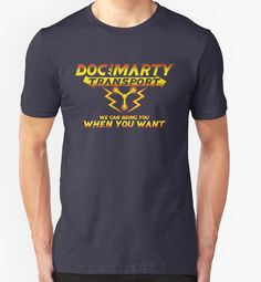 Doc & Marty Transport - Back to the Future - Doc Emmett Brown - Marty McFly - Flux Capacitor - DeLorean - Time Travel