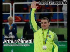 Zanetti ganha terceira medalha de prata para o Brasil.
