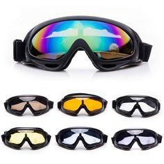 2bc342f828db Winter Snow Sports Skiing Snowboard Snowmobile Anti-fog Goggles Windproof  Dustproof Glasses UV400 Skate Ski Sunglasses Eyewear