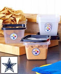 Dallas Cowboys 12-Pc. Food Storage Set - Food Containers - Officially Licensed #ForeverCollectables