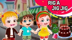 Get ready to jig to the playful tunes of a joyful nursery rhyme, Rig A Jig Jig along with Baby Hazel and friends