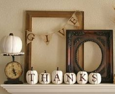 Pumpkin Banner - have to remember this for next thanksgiving!