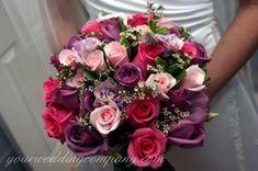 Vivid Wedding Bouquet