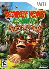 Donkey Kong Country Returns After 14 years, Donkey Kong Country has returned with an all-new banana-hoarding adventure only on Wii! Donkey Kong makes his Xbox 360, Playstation Wii, Donkey Kong Country Returns, Video Games Xbox, Wii Games, Nintendo 3ds, Super Nintendo, Nintendo Switch, Ever After High Games