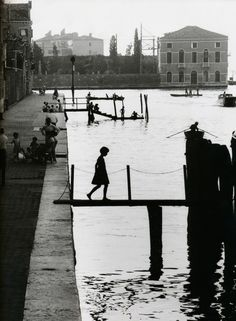 Fondamenta Nupe, Venice, 1959 by Willy Ronis.