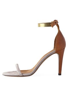 Hello perfect spring sandal! Isabel Marant Stiletto with Metal Strap