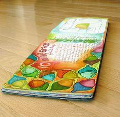 Happy Reminders: art journaling