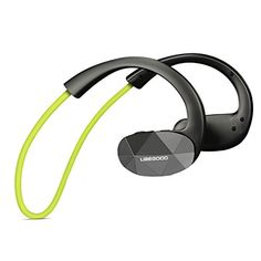 Special Offers - Ubegood Wireless Bluetooth 4.1 Sports Headphones for Running with Built-in Mic (Green) - In stock & Free Shipping. You can save more money! Check It (April 01 2016 at 03:56PM) >> http://eheadphoneusa.net/ubegood-wireless-bluetooth-4-1-sports-headphones-for-running-with-built-in-mic-green/