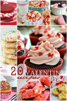 20 Valentine Recipes over at the36thavenue.com Yummy and sweet!