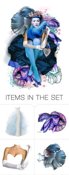 """Ocean Blue"" by rosie305 ❤ liked on Polyvore featuring art, dollset and artdoll"