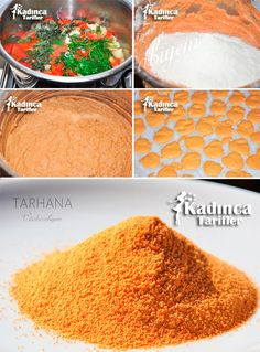 tarhana-nasil-yapilir Easy Delicious Recipes, Yummy Food, Turkish Recipes, Ethnic Recipes, Seasonal Food, Homemade Beauty Products, Fermented Foods, Cute Food, Winter Food