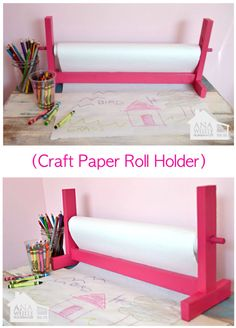 ('Build Your Own Craft Paper Roll Holder...!')