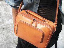 GABRIELLE'S AMAZING FANTASY CLOSET | Leather Shoulder Bag,Handmade Leather Briefcase