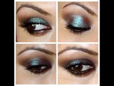 Maquillaje de ojos tornasolado