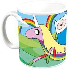 [Adventure Time: Mug: Rainicorn Rainbow (Product Image)]
