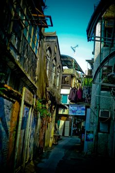 Alley in Cheung Chau Island, HK