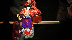 This video from Youtube displays the chanting of a Tayu. An important impact a Tayu makes through their chanting in a Bunraku play is portraying the real emotions of the puppets in order to make connections with the audience. The use of chanting in a performance of Amijima allows the audience to sympathize with Osan as she struggles to maintain the duties of a wife and Jihei as he lacks the money to ransom his lover. (H.Nguyen)