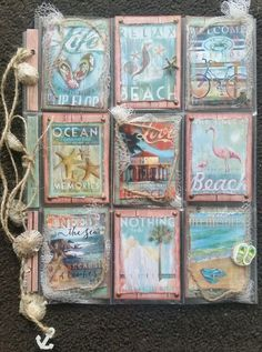 Rustic+Beach+Pocket+Letter+-+Front - Scrapbook.com                              …