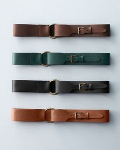 Eloisa Wide Leather Belt