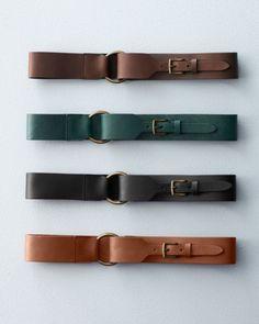Eloisa Wide Leather Belt
