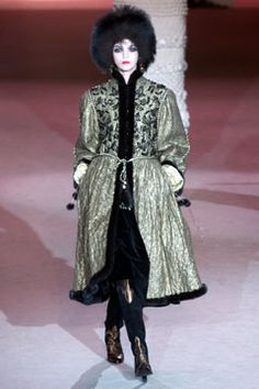 Saint Laurent | Spring 2002 Couture Collection | Style.com - Cossack, 1976