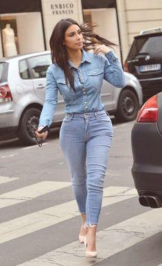 April 30, 2014 - Kim Kardashian out in Paris