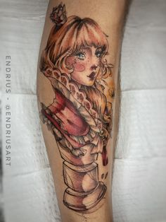 Tatuagem colorida: Joga mais cor que está pouco! - Blog Tattoo2me Watercolor Tattoo, Portrait, Tattoos, Blog, Instagram, First Tattoo, Color Tattoo, Colourful Art, Get A Tattoo