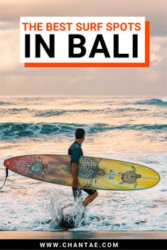 Bali has essentially become synonymous with being one of the best surf destinations in Asia. Peeling reef breaks, friendly beach breaks, and barrels make the Island of the Gods a diverse place to paddle out. In this guide, I'll show you the best surf spots in Bali no matter what type of surfer you are. #bali #asia #surf #surfer #surftrip #surftips #travelbali #adventuretravel #asiatravel #travelplanning #travelguide Bali Travel Guide, Asia Travel, Travel Guides, Surf Travel, Surf Trip, Travel Tips, Beautiful Places To Visit, Cool Places To Visit, Places To Travel