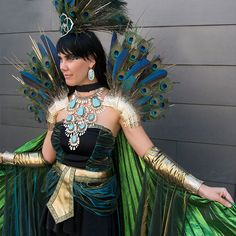 Kendra was decked out in vintage KS couture pieces as a stunning Mayan princess!