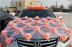 Desi Wedding Decor, Wedding Car Decorations, Backdrop Decorations, Garland Wedding, Floral Wedding, Wedding Cars, Bridal Car, Diy Wedding Inspiration, Wedding Entrance