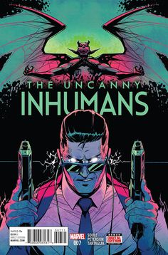 MARVEL COMICS (W) Charles Soule (A/CA) Brandon Peterson • Inhuman investigator Frank McGee tracks down the jilted ex-leader of Ennilux who's trying to regain his fiefdom. • Meanwhile, Prince Ahura mak