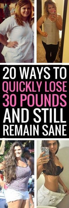 20 weight loss tips that allow you to still lead a normal life.