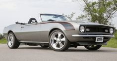 Awesome Drop Top 1968 Camaro ZZ502 Custom Job
