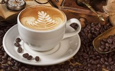 Cappuccino The melodious fusion of bold espresso and frothy cream delivers the supreme capuccino flavour Coffee Barista, Coffee Art, Coffee Drinks, Coffee Time, Morning Coffee, Coffee Break, Coffee Corner, Espresso Coffee, Black Coffee