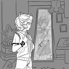 Reflection by mageyalook Kingdom Hearts 3, Kingdom 3, Vanitas, Cute Pokemon, Anime, Disney Magic, Final Fantasy, Game Art, The Help