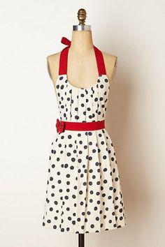 Love this apron!!!  Polka Pleats Apron