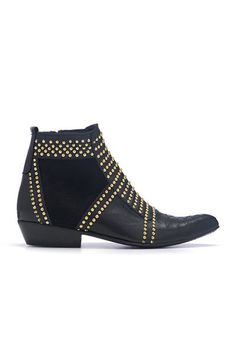 | Anine Bing - Boots with gold studs | <3