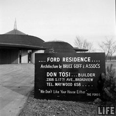 Ford Residence - Aurora, IL - Built: 1948 by MidCentArc, via Flickr
