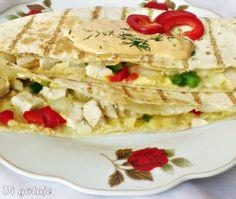 Di gotuje: Quesadilla z kurczakiem i papryką