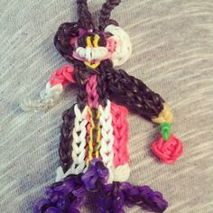 My most wanted Disney villian rainbow loom.