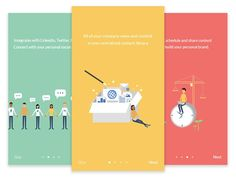 UI设计灵感:40个美丽的APP启动页   设计达人